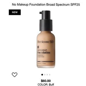 Perricone MD No Makeup Foundation...Color: Buff